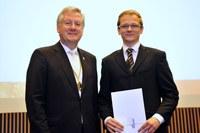 Cameron Dron erhielt den DAAD-Preis