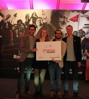 MEG-Studierende aus Freiburg als Finalisten bei den Vereinten Nationen in New York (11.09.2018)