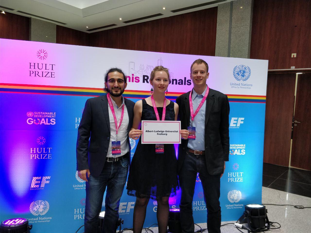 MEG-Studenten gewinnen Hult-Prize Regionals in Tunesien (22.03.2018)
